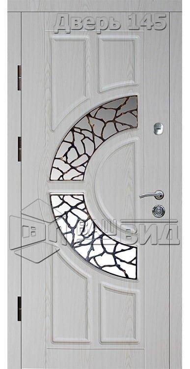 Дверь Б18 плюс решётка 6 (входная улица) 5