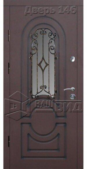Дверь Б32 плюс решётка 38 (входная улица)