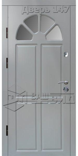 Дверь Б143 плюс с.п. эскиз (входная улица)