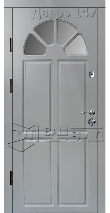 Дверь Б143 плюс с.п. эскиз (входная улица) 5