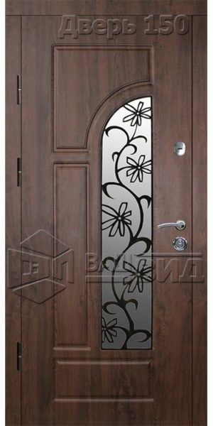 Дверь Б267 плюс решётка 18 (входная улица)