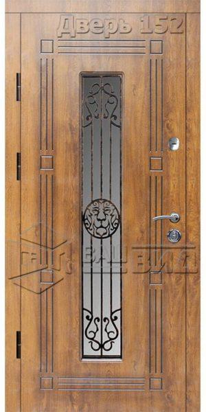 Дверь Б279 плюс решётка 28 (входная улица)
