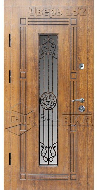 Дверь Б279 плюс решётка 28 (входная улица) 5