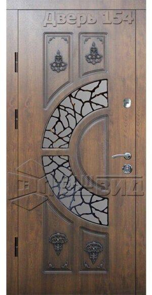 Дверь БЛ3 плюс решётка 6 (входная улица)