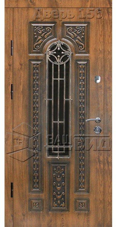 Дверь БП6 плюс решётка 30 (входная улица) 5
