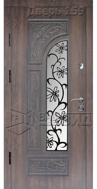Дверь БП38 плюс решётка 18 (входная улица) 5