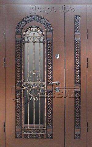 Дверь БП1 плюс решётка 25 (входная с улицы)