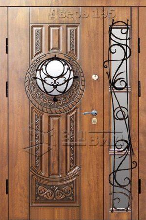 Дверь БП61 плюс решётка 40, 37 (входная улица)