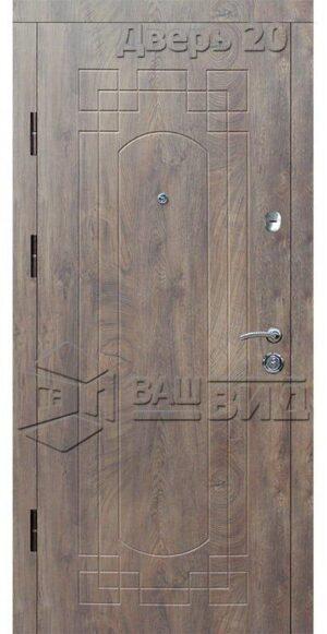 Дверь Б295 (входная квартира)