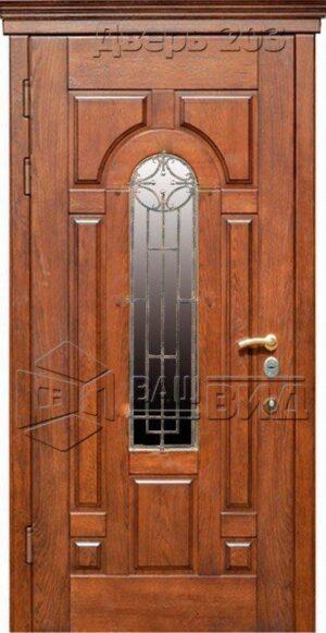 Дверь Стандарт 2 плюс решётка 30 (входная улица)