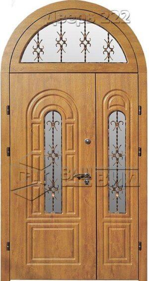 Дверь Б 43 плюс решётка 1 (входная улица)