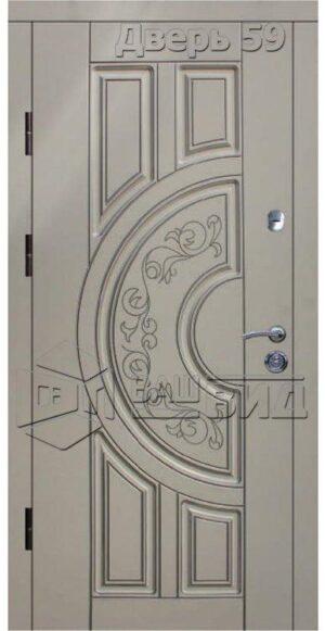 Дверь БП9 (входная улица)