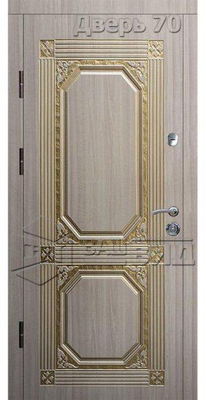 Дверь БП60 (входная квартира)