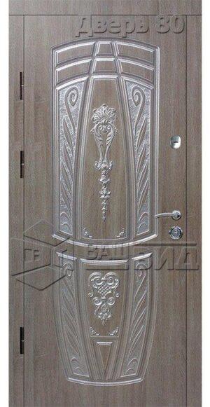 Дверь БЛ2 (входная квартира)