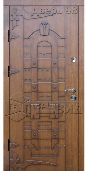 Дверь СД7 (входная квартира)