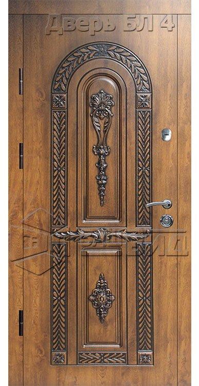 Дверь БЛ4 (входная улица) 5