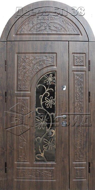 Входные двери (под заказ) • ВДН-АРОЧНАЯ-БП-38