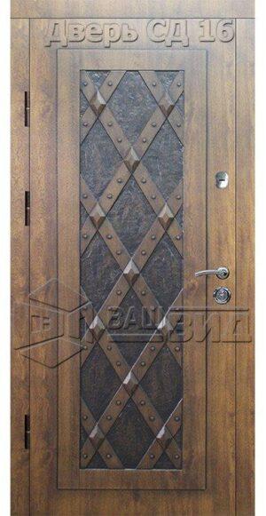 Дверь СД16 (входная улица)