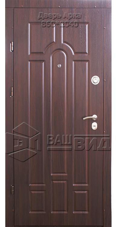 Двери Арка 16 860*2040 (входные квартира) 5