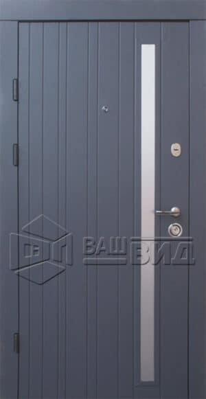 Дверь Браш-AI двухцветная (входная квартира)