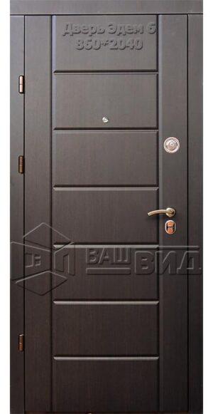 Двери Эдем 6 860*2040 (входные квартира)