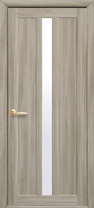 Межкомнатные двери Экошпон 39 со стеклом сатин