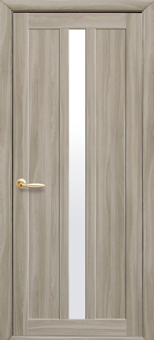 Межкомнатные двери Экошпон 39 со стеклом сатин 5