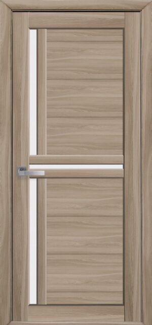 Межкомнатные двери Экошпон 40 со стеклом сатин