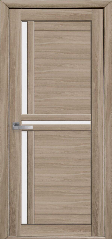 Межкомнатные двери Экошпон 40 со стеклом сатин 5