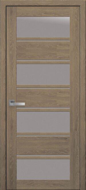 Межкомнатные двери Экошпон 42 со стеклом сатин