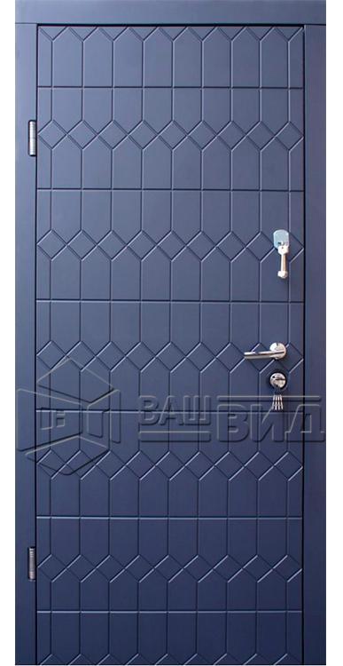 Дверь Графит (входная улица) 5