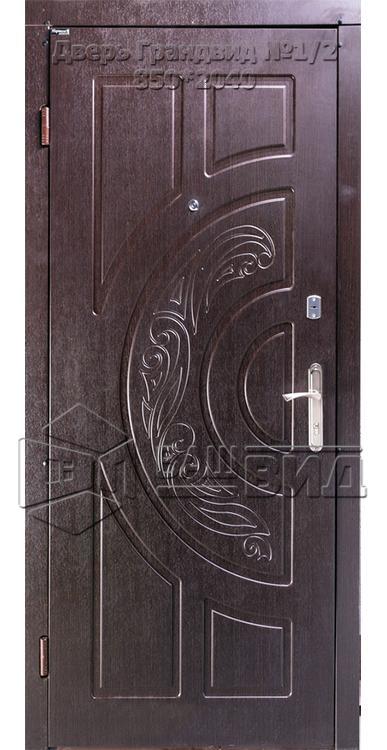 Двери Грандвид №1/2 850*2040 (входные квартира) 5