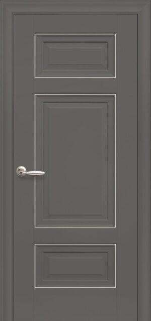Межкомнатные двери ПП Premium ПП61 ПГ антрацит