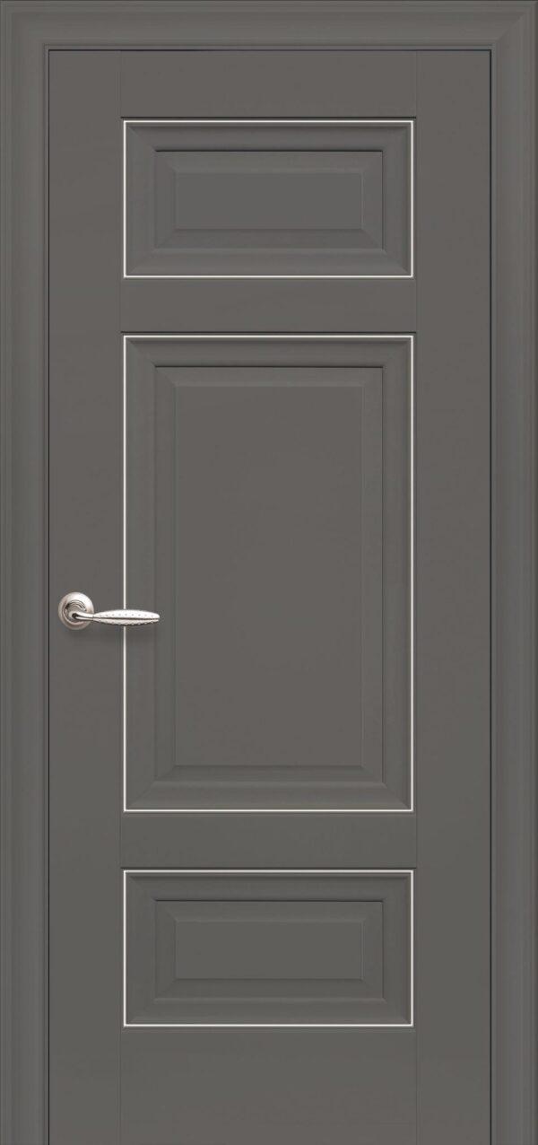 Межкомнатные двери ПП Premium ПП61 ПГ антрацит 5