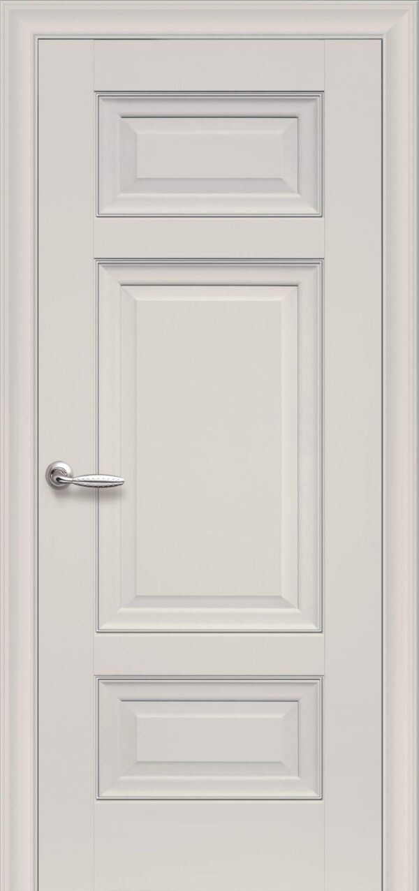 Межкомнатные двери ПП Premium ПП61 ПГ магнолия 5