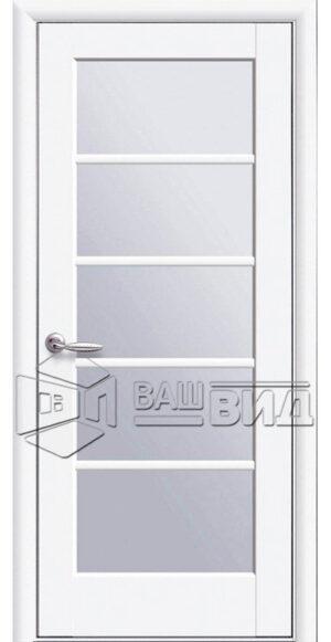 Межкомнатные двери ПВХ П13 стекло сатин
