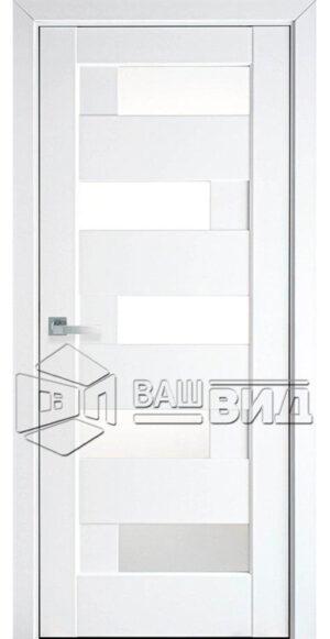 Межкомнатные двери ПВХ П14 со стеклом сатин