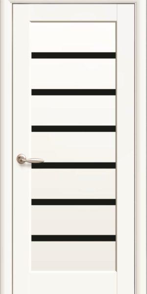 Межкомнатные двери ПВХ П11 со стеклом сатин