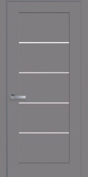 Межкомнатные двери ПВХ П12 бук пепельный