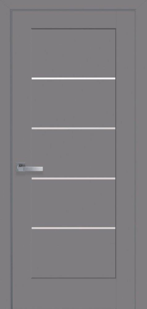 Межкомнатные двери ПВХ П12 бук пепельный 5