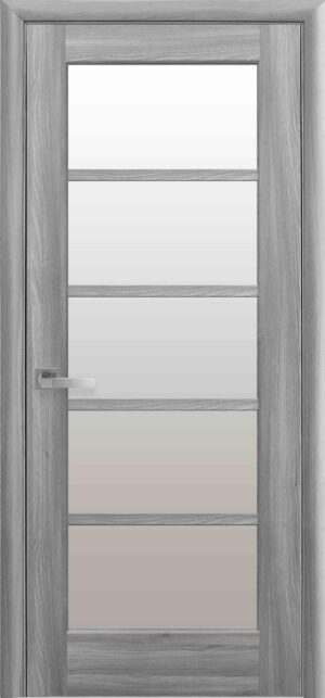 Межкомнатные двери ПВХ П13 grey