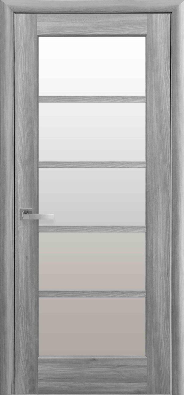 Межкомнатные двери ПВХ П13 grey 5