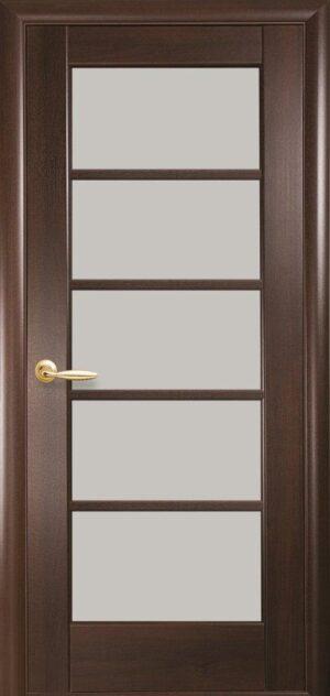 Межкомнатные двери ПВХ П13 каштан
