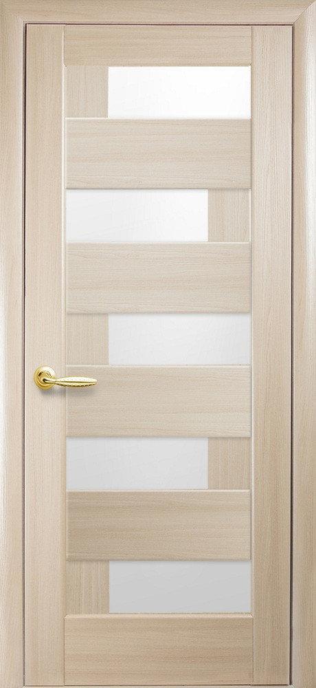 Межкомнатные двери ПВХ П14 со стеклом сатин 5