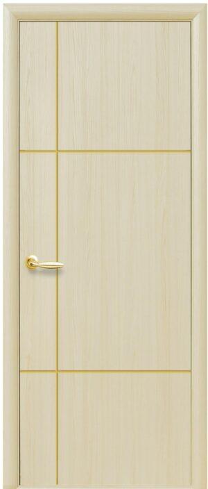Межкомнатные двери ПВХ П15 ясень