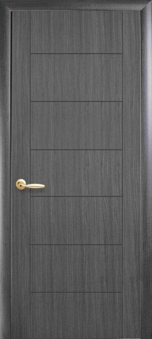 Межкомнатные двери ПВХ П16 grey