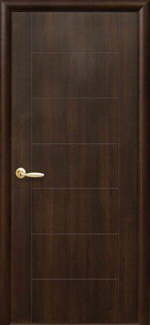 Межкомнатные двери ПВХ П16 золотая ольха