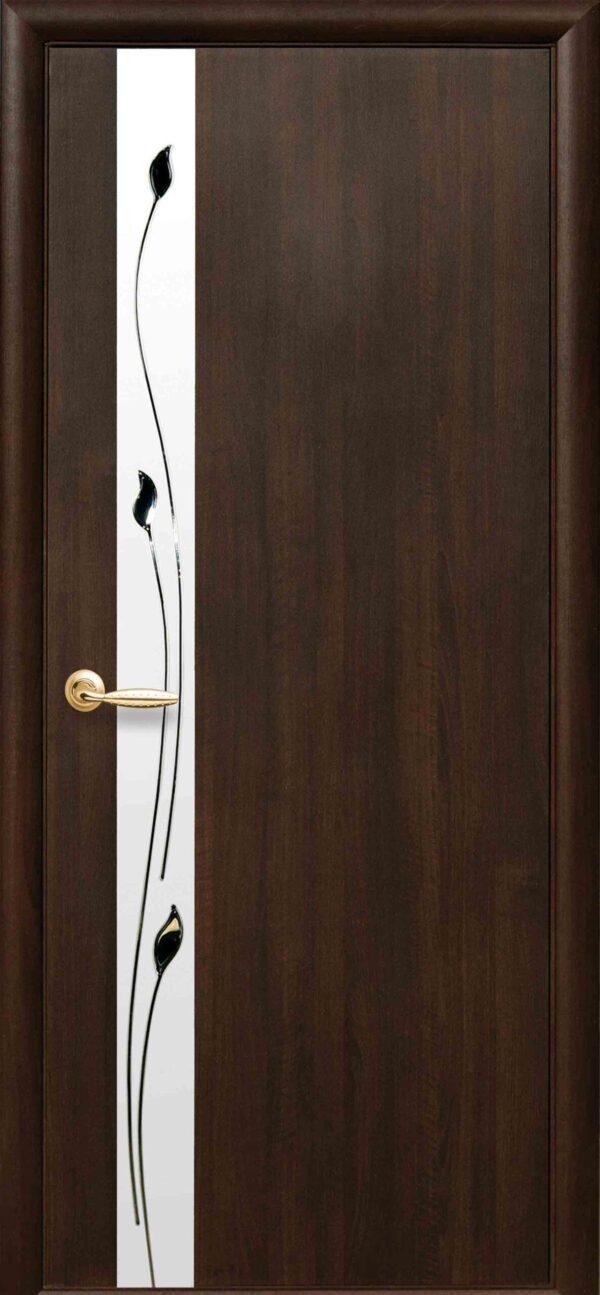 Межкомнатные двери ПВХ П24 с зеркалом 5