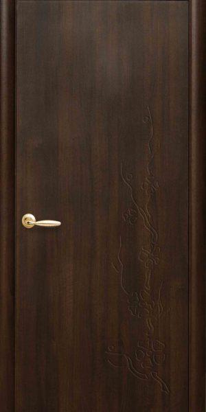 Межкомнатные двери ПВХ П25 каштан