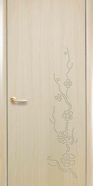 Межкомнатные двери ПВХ П25 ясень